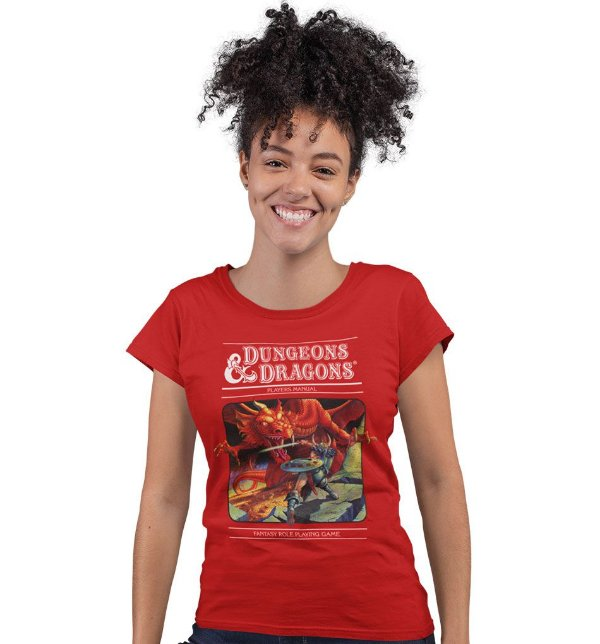 Camiseta Dungeons & Dragons - Manual do Jogador
