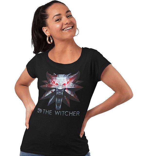 Camiseta The Witcher - Medalhão