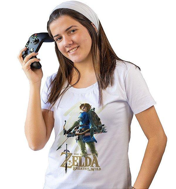 Camiseta Zelda - The Breath of The Wild