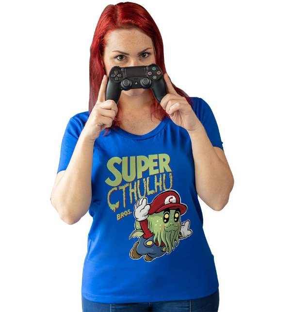 Camiseta Super Cthulhu Bros