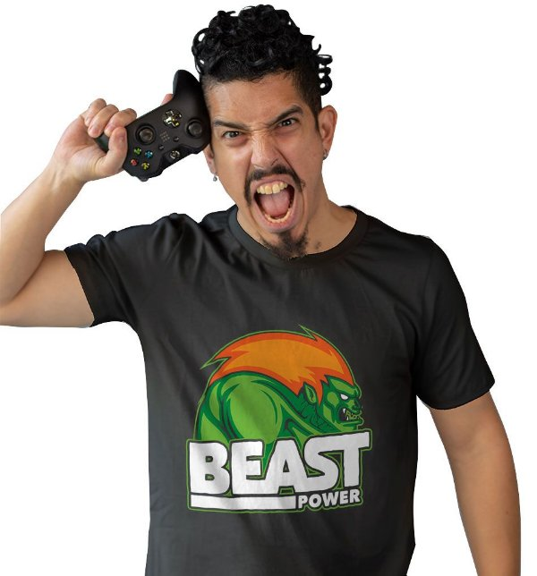 Camiseta Street Fighter - Blanka