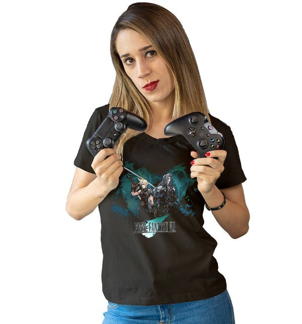 Camiseta Final Fantasy VII