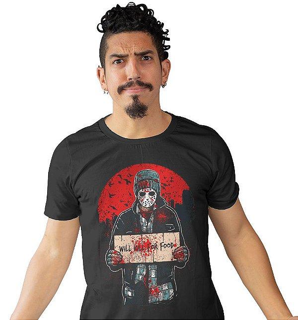 Camiseta Will Kill For Food