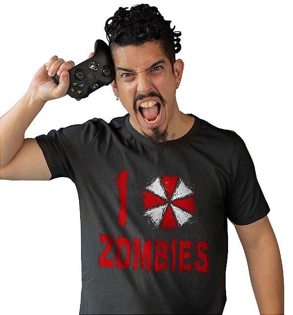 Camiseta Resident Evil - Zombies
