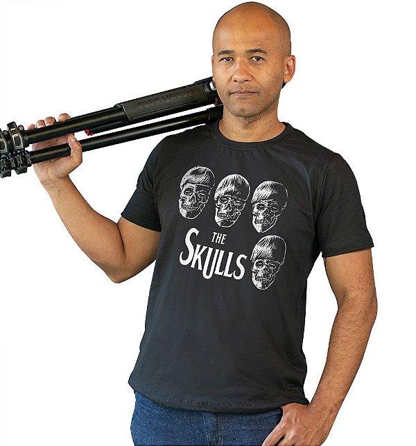 Camiseta Beatles - Caveiras