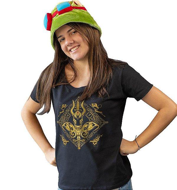 Camiseta Cavaleiros do Zodíaco - Armadura de Ouro de Capricórnio
