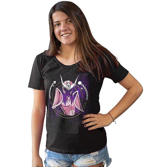Camiseta Cavaleiros do Zodíaco - Armadura de Andrômeda