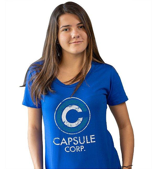 Camiseta Dragon Ball - Capsule Corp