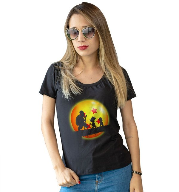 Camiseta Dragon Ball Origens