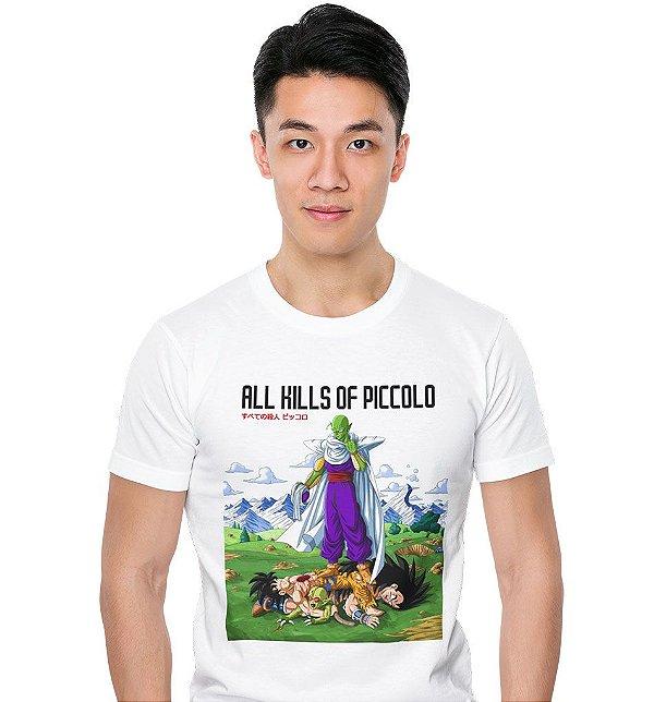 Camiseta Dragon Ball Z - All Kills of Piccolo