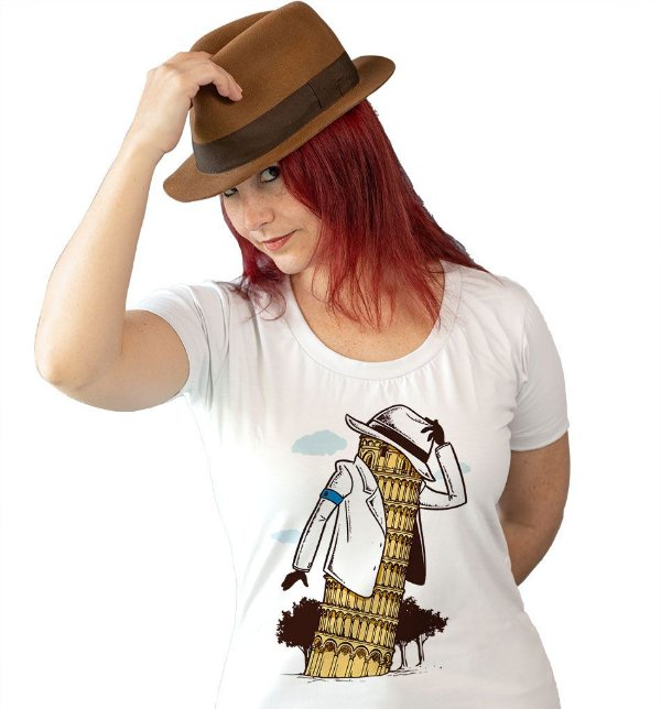 Camiseta Torre de Pisa Smooth Criminal