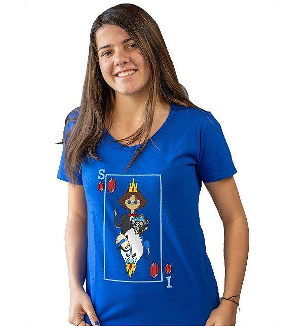 Camiseta Hora de Aventura - Rei Gelado X Simon