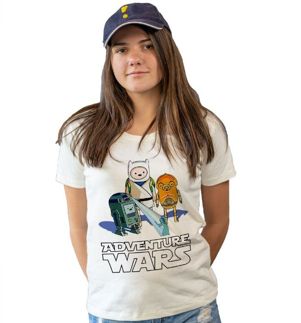 Camiseta Hora de Aventura - Adventure Wars