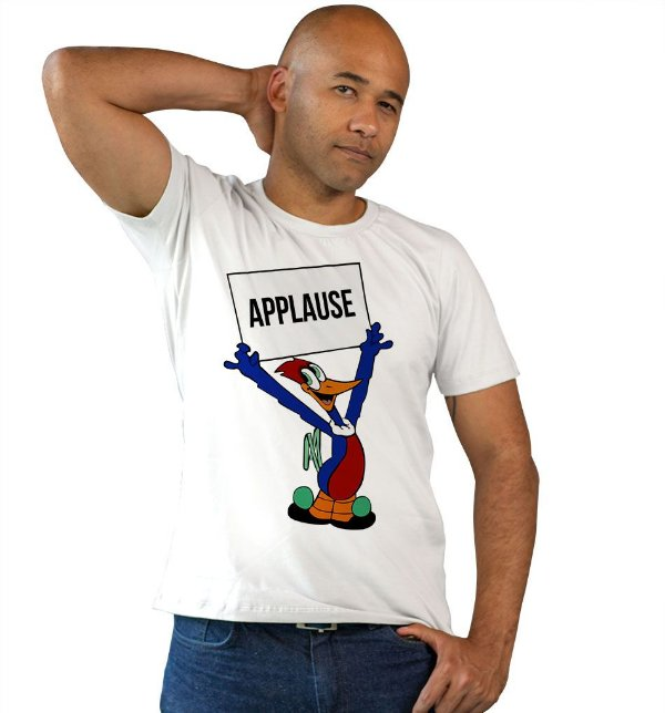Camiseta Pica Pau - Aplausos!