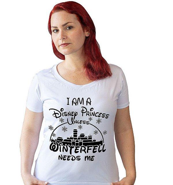 Camiseta Game of Thrones - Princesa Disney