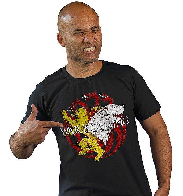 Camiseta Game of Thrones - War is Coming II