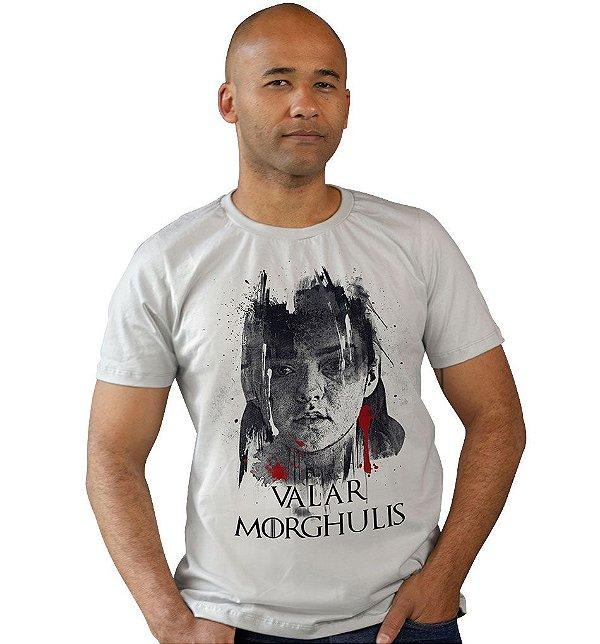 Camiseta Game of Thrones - Valar Morghulis