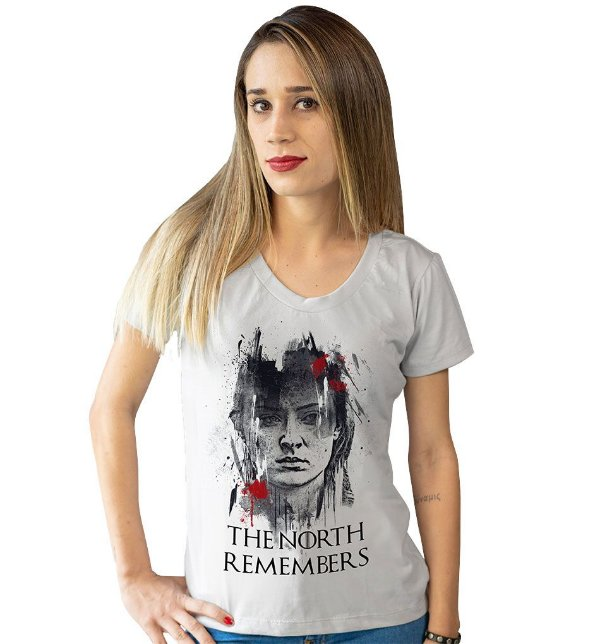 Camiseta Game of Thrones - The North Remembers