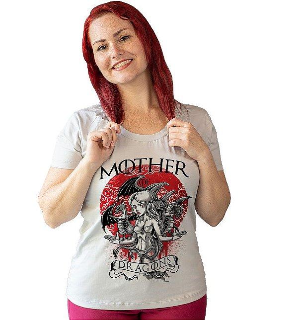 Camiseta Game of Thrones - Mãe de Dragões