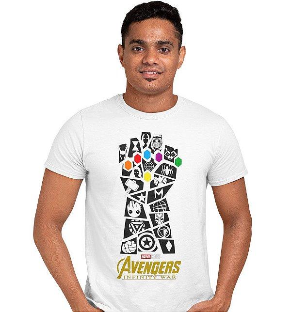 Camiseta Vingadores Ultimato - Manopla