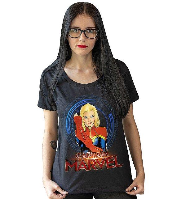 Camiseta Capitã Marvel