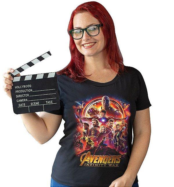 Camiseta Vingadores - Guerra Infinita, O Filme