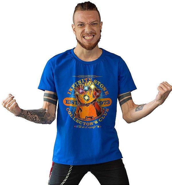 Camiseta Vingadores - Manopla do Infinito