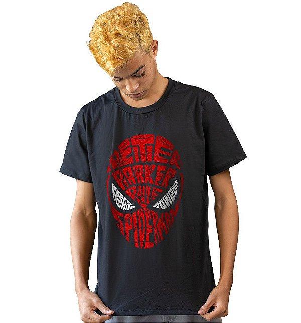 Camiseta Homem Aranha - Grandes Poderes