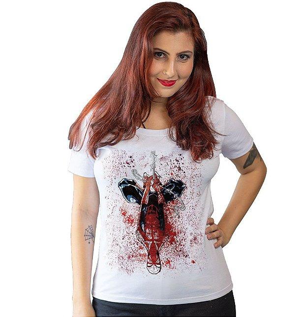 Camiseta Homem Aranha - Teia de Sangue