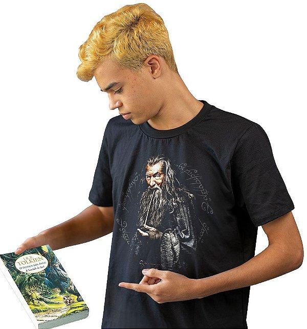 Camiseta O Senhor dos Anéis - Gandalf, O Cinzento