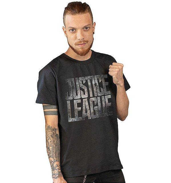 Camiseta Liga da Justiça - O Filme
