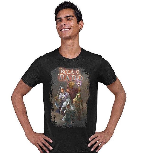 Camiseta Azecos - Rola o Dado!