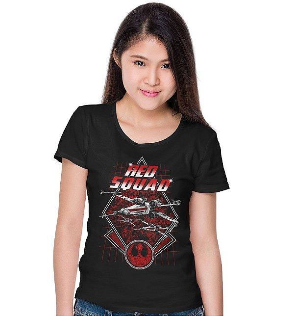 Camiseta Star Wars - Red Squad
