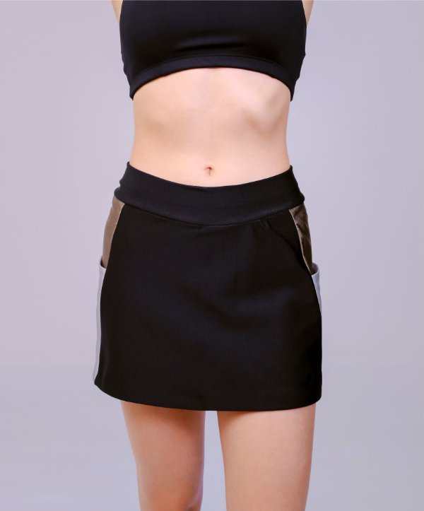 Shorts Saia Trilobal PRETO E JACARE