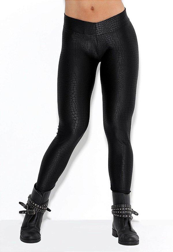 Legging Croco Black Rock Code