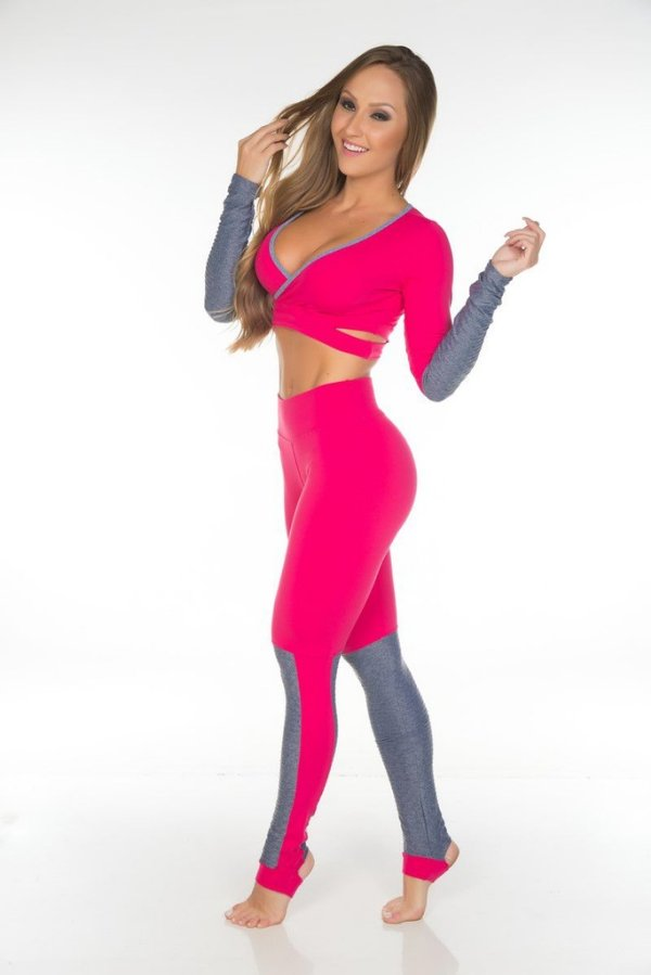 Conjunto Fitness Cacá Garota Fit
