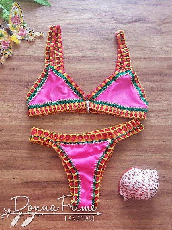 Bikini Angel de Crochê Donna Prime