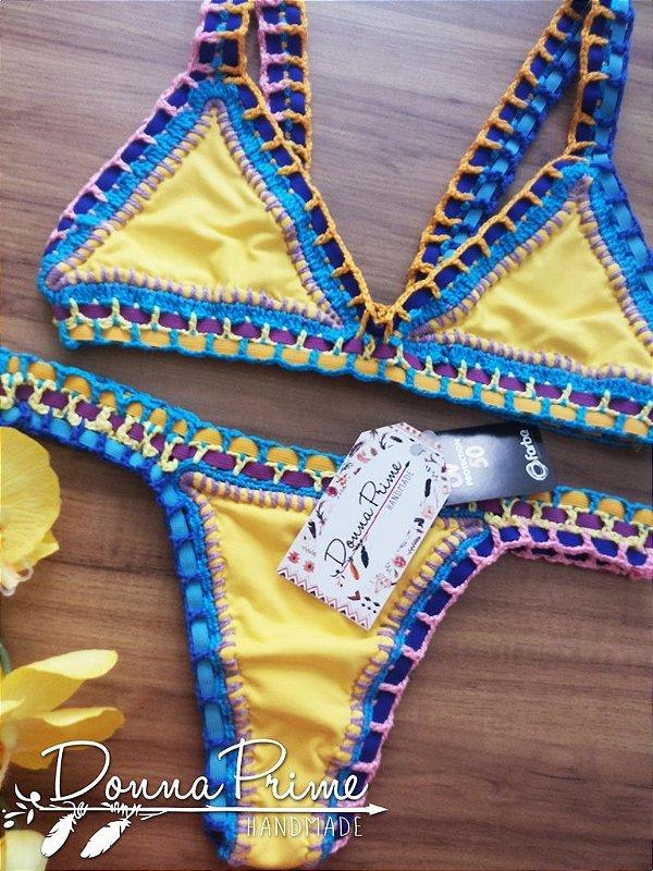 Biquíni Sol Angel Crochet Donna Prime