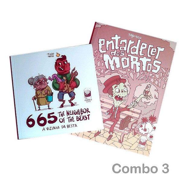 COMBO 3 | 665 + Entardecer dos Mortos