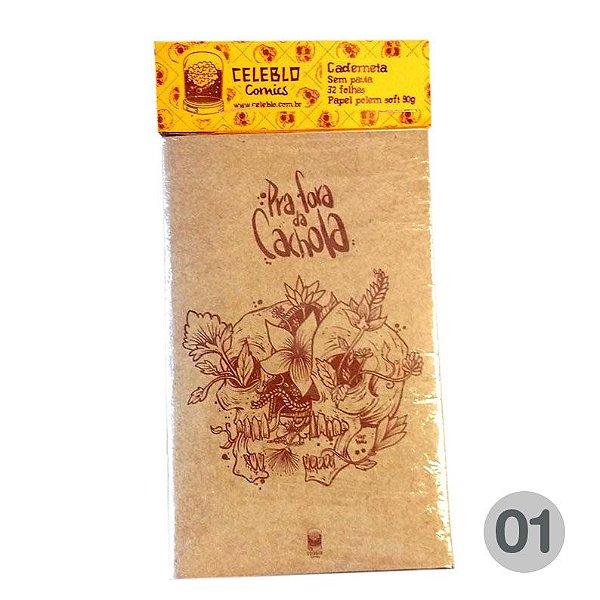 Vermelho 1 - Caderneta - Pra Fora da Cachola (avulso)