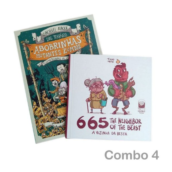 COMBO 4 | 665 + Abobrinhas Zumbis