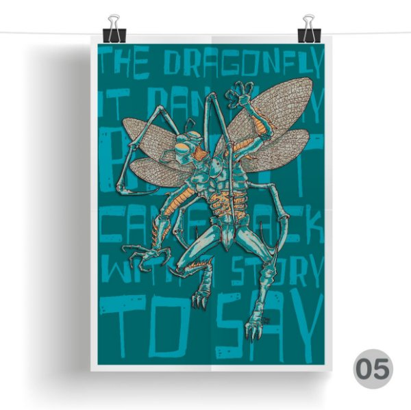 PRINT - Dragonfly