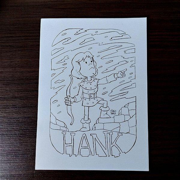 Arte original - Hank - Caverna do Dragão