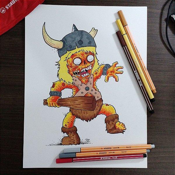 Arte Original - Bob - Caverna do Dragão