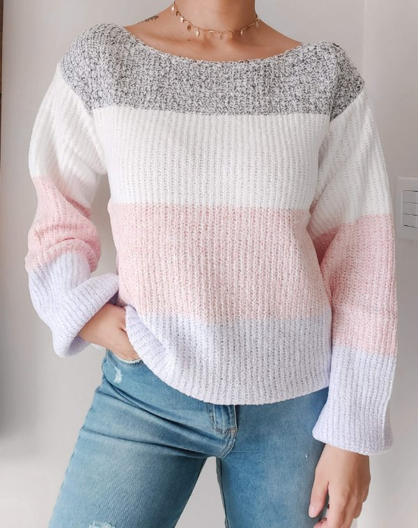 Blusa Fashion Tricot Colors