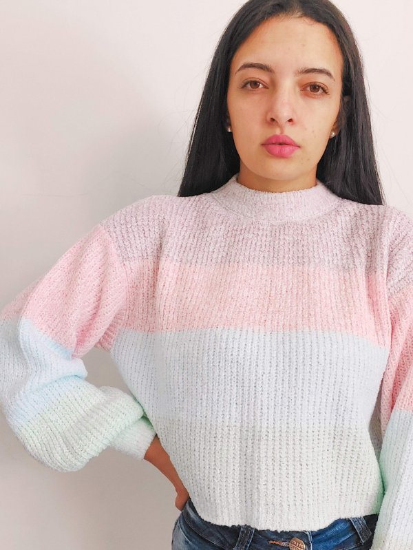 Cropped  Tricot Baballo