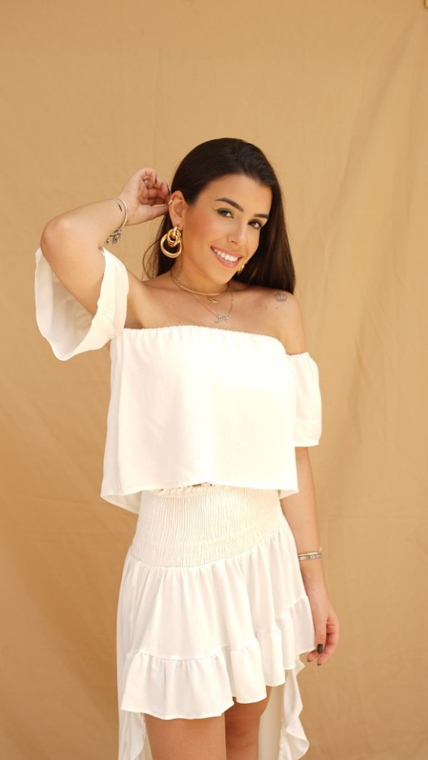 CROPPED CARAIVA OFF WHITE