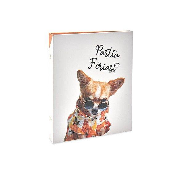 Álbum Pet Lovers Rebites Cão Partiu Férias 160 Fotos 10X15 Único