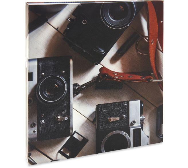 ALBUM DE FOTOS AUTOCOLANTE FERRAGEM 15FL PAPEL BRANCO - 917
