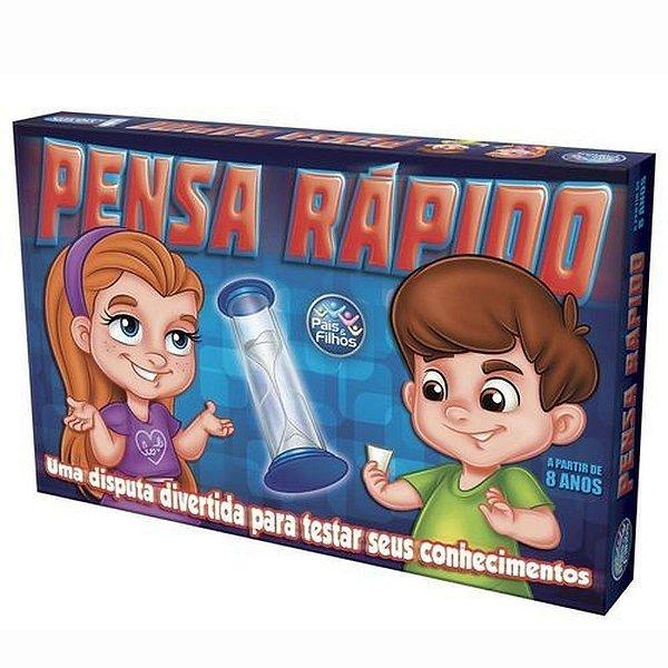 Jogo Pensa Rapido Super Jogos 7301.1